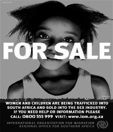 Human sex trafficking in africa